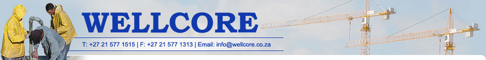 Wellcore - De-watering, wellpoints, pumps and repairs